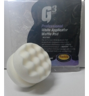 Farecla G3 White Applicator Waffle Pad